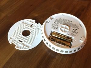 Batteriefach Cordes CC80 Funkrauchmelder