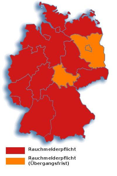 Rauchmelderpflicht Deutschland